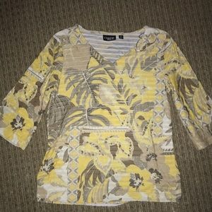 Super fun tropical top